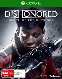 Dishonored Death of the Outsider Xbox One Game NEW