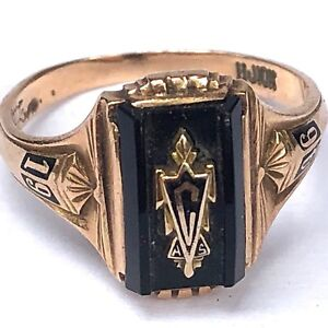 Ladies' Petite Girl's High School class ring in amethyst ... |Womens High School Class Rings