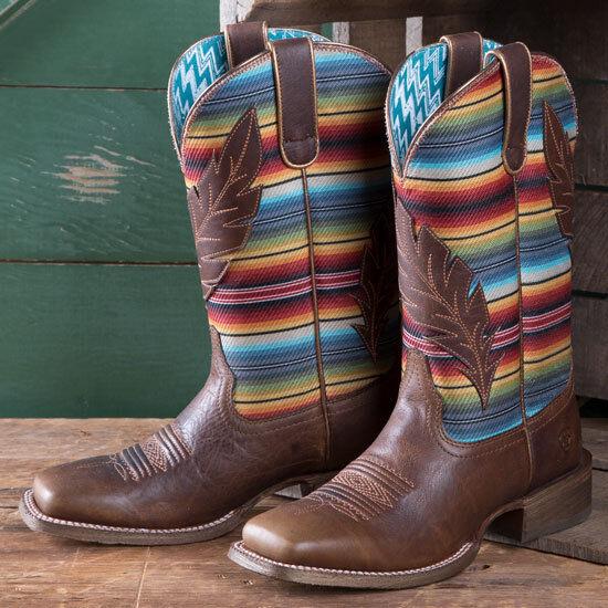 Ariat Autumn Tan Circuit Feather Boots
