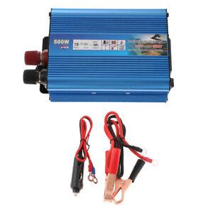 500W-Car-Power-Inverter-Universal-DC12V-to-AC220V-Solar-Inverter-Blue