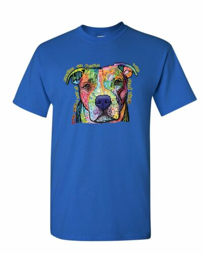 Dean Russo Dogs Have a Way T-Shirt Pet Animal Lover Cute Pitbull Mens Tee Shirt