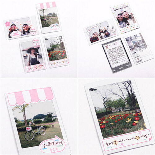 6 Sheet Notebook Photo Paper Sticker Scrapbook Diary Calendar Planner Decor DIY