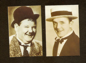 LAUREL-amp-HARDY-CARD-FILM-FAVOURITES-NOT-POSTCARD-REAL-PHOTO