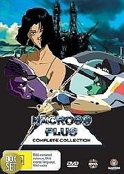Macross Plus Complete Collection DVD Brand New Region 4