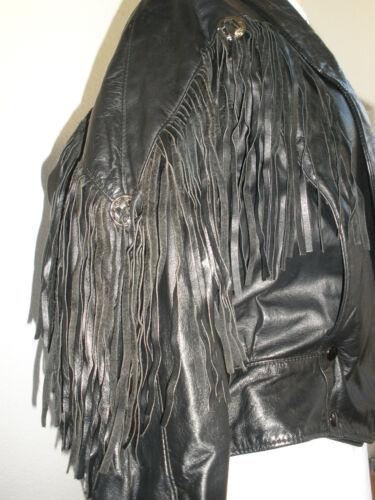 Sportswear Jacket Usa Reed In Sjældent L Made Sort Xl Biker Størrelse Læder Hot dIBxZa
