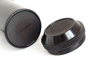 Leica-Leitz-Bakelite-Objektiv-Halter-fuer-9cm-Elmar-1940s-neuwertig