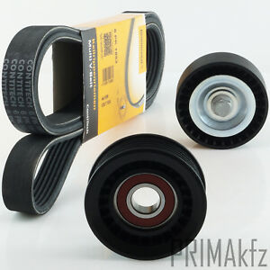 CONTI-6PK1893-Keilrippenriemen-Spannrolle-Umlenkrolle-Ford-Focus-1-4-1-6-16V