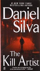 The-Kill-Artist-by-Daniel-Silva-paperback-FREE-SHIPPING-Gabriel-Allon-Book-1