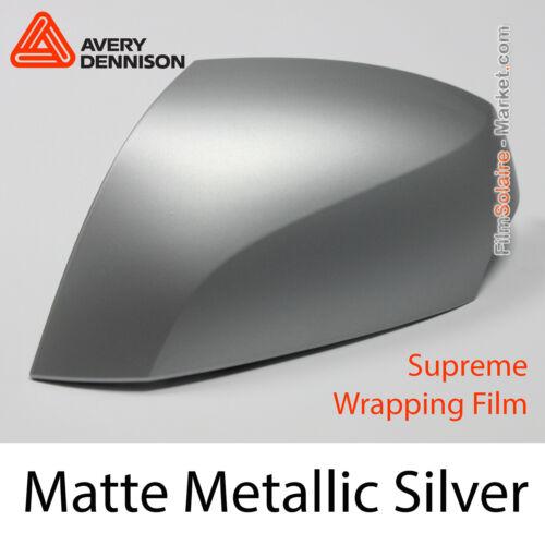 Avery Dennison Supreme Wrapping Film Matte Metallic Silver AP2270001