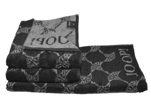JOOP Cornflower 1611 schwarz Handtücher Saunatuch Duschtuch Handtuch online