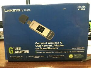 LINKSYS WIRELESS-G WUSB54GSC DRIVERS FOR WINDOWS