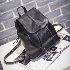 Women-Girls-Ladies-Leather-Backpack-Travel-Shoulder-Bag-PU-Rucksack-Handbag