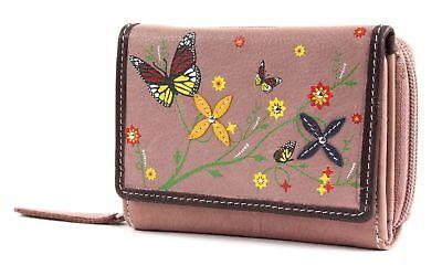 Bruno Banani Butterfly Wallet With Flap Portafoglio Rosé Rosa Giallo Nuovo-mostra Il Titolo Originale Vendite Di Garanzia Della Qualità