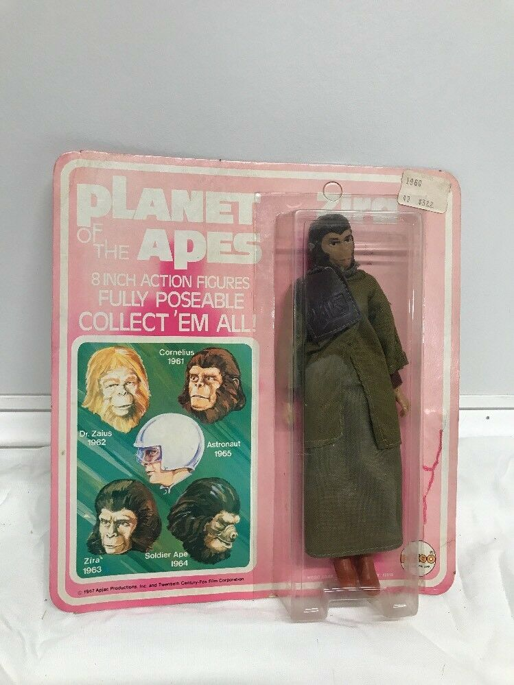 Vintage 1967 Mego Planet Planet Planet of the Apes Zira Factory Sealed —NEW— 7f554f