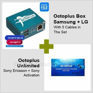 Details about Octoplus Box Samsung + LG + Unlimited Sony/Sony Ericsson  Activation + Cables