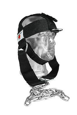 Senshi Japan Nylon Head Harness Lavaggi Cintura Collo Esercizio Peso Sollevamento Palestra-
