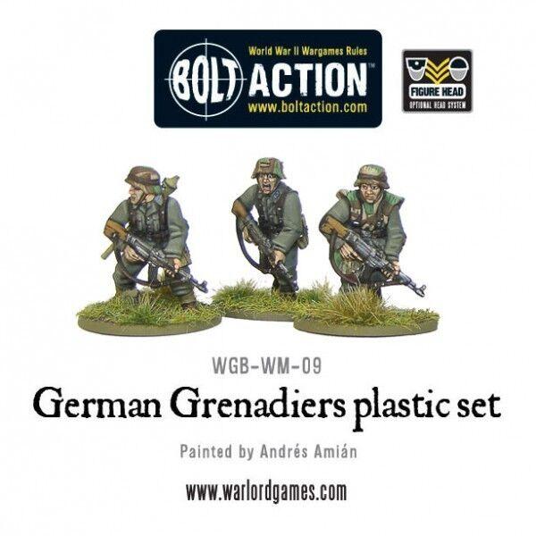 Warlord Games Bolt Action BNIB German Grenadiers WGB-WM-09