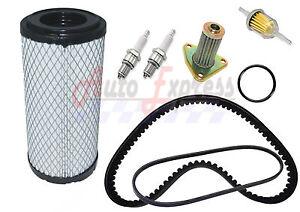 EZGO-TXT-ST-350-96-Gas-Golf-Cart-Tune-Up-Kit-w-Oil-Filter-Drive-Starter-Belt