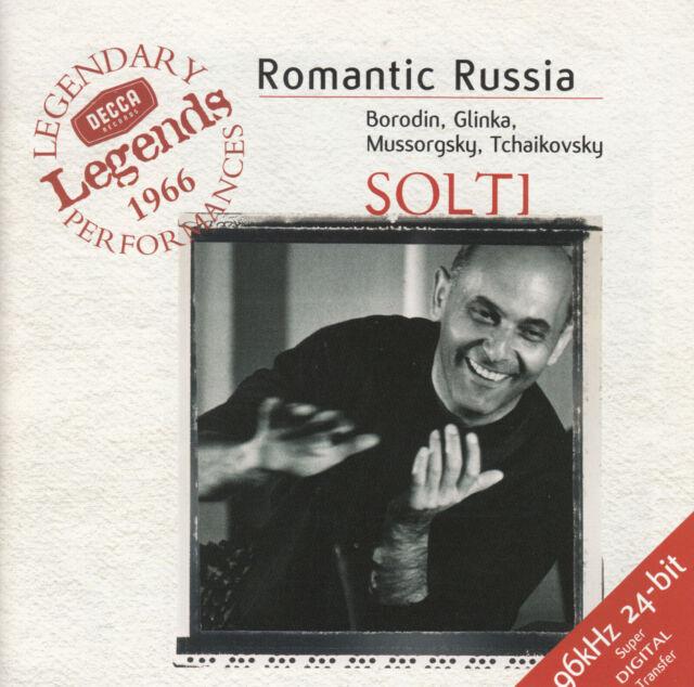 Tchaikovsky - Romantic Russia, Solti, Borodin, Glinka, Mussorgsky CD 1999