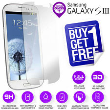 100% Genuine Tempered Glass LCD Screen Protector Film For Samsung Galaxy S3
