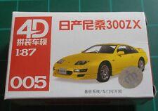 1/87 HO Scale Nissan 300ZX Plastic Model Kit 4D #005