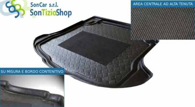 Vasca tappeto baule SEAT Leon ST 13> su misura auto!
