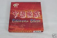 Chinese Chess Wood Carved Set 32 Pieces Boys Girls Board Game Size 1 1/2 W