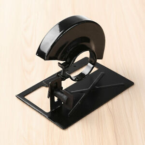 Woodworking Angle Grinder Holder Tools Shield Cover Adjustable Bracket