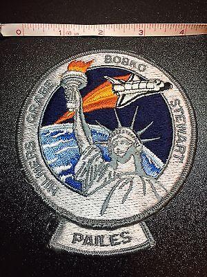 NASA PATCH SPACE SHUTTLE ATLANTIS STS-51-J HILMERS GRABE BOBKO STEWART