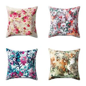 BL-Vintage-Floral-Pillow-Case-Soft-Waist-Cushion-Cover-Car-Sofa-Home-Decor-Eyef