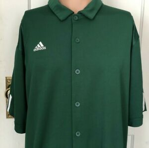 Adidas-Climacool-Shirt-Mens-Size-Large-Green-L-Polo-Rugby