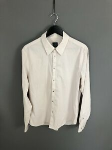 ARMANI-Shirt-Size-Large-Striped-Great-Condition-Men-s