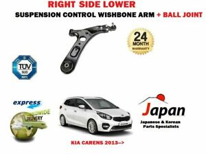 FOR KIA CARENS 2013->FRONT RIGHT SIDE LOWER SUSPENSION WISHBONE ARM + BALL JOINT