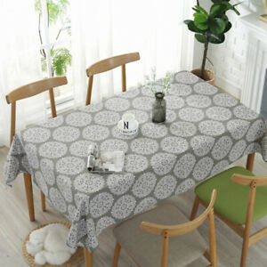 2019-New-Table-Cloth-Linen-Square-Tablecloths-Rectangular-Dinner-Tablecloths