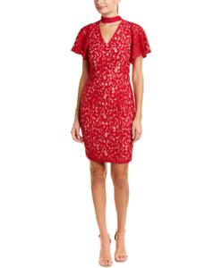 Brand New New New Alexia Admor Sheath Choker Dress - XS - Red cf5281