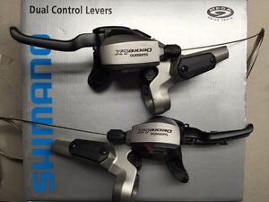 Details about SHIMANO DEORE LX ST-M585 9 SPEED INTEGRATED SHIFTERs  HYDRAULIC BRAKES