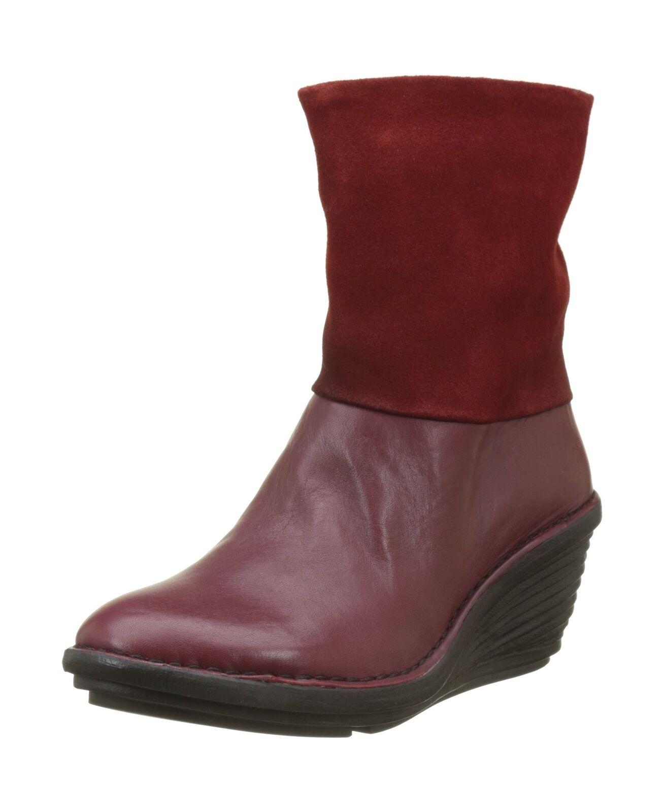 Fly London Women's Sina671fly Boots Red (Cordoba (Cordoba (Cordoba Red) 4 UK 8c109d