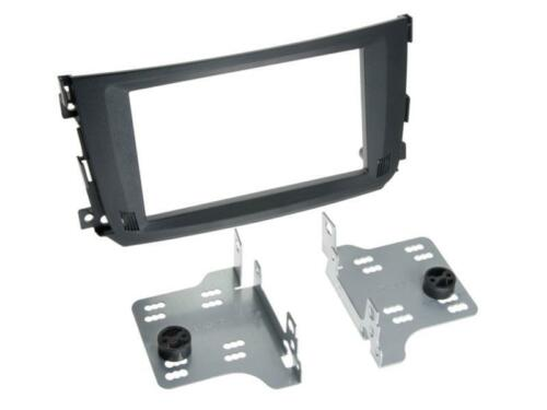 Für Smart Fortwo A451 Facelift Auto Radio Blende Einbau Rahmen Doppel-DIN 2-DIN