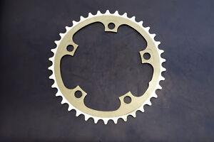 Cycling Genteel Mtb Rennrad Kettenblatt Fsa 110mm Lk 38 Zähne Tooth Chainring Silber