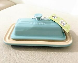 Image Is Loading Nwt Le Creuset Stoneware Er Dish Light Sky