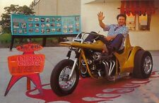 "Vintage Ed ""big Daddy"" Roth California Cruiser Trike Motorcycle Photo Postcard"