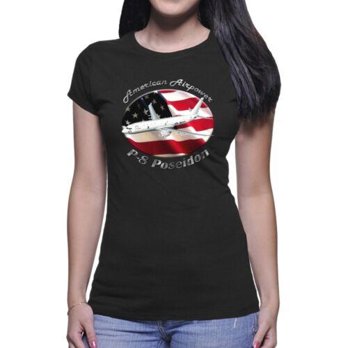 P-8 Poseidon American Airpower Women`s Dark T-Shirt