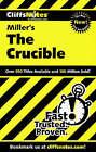 Notes on Miller's  Crucible by Denis Calandra, James L. Roberts (Paperback, 2000)