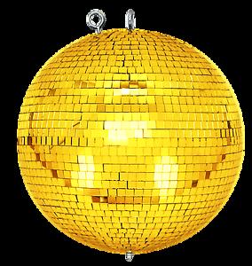 Spiegelkugel-mit-Sicherheitsoese-30cm-gold-Discokugel-Mirrorball-30cm-gold