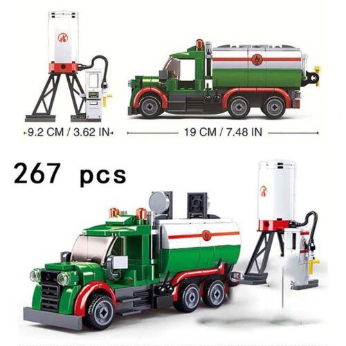 City Truck Car Model DIY Building Blocks Toy