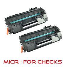 2pk - MICR Toner Cartridge (05A) for HP CE505A LaserJet P2035, P2035n, P2050