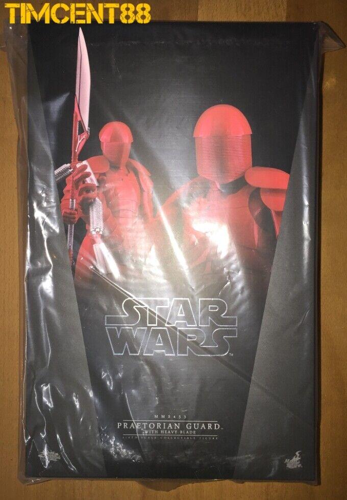 Ready Hot Toys MMS453 Star Wars le dernier Jedi prétorienne Guard avec lourde Lame