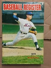 THE SPORTING NEWS 1970 BASEBALL REGISTER -SEAVER/MAYS COVERS