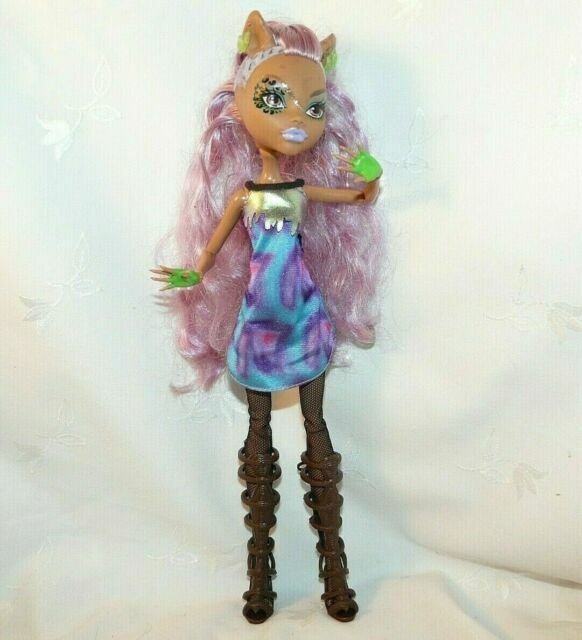 Monster High Ghouls Rule Clawdeen Wolf Doll For Sale Online Ebay
