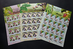 SJ-Malaysia-Medicinal-Plants-IV-2018-Fruits-Food-Flower-sheetlet-MNH